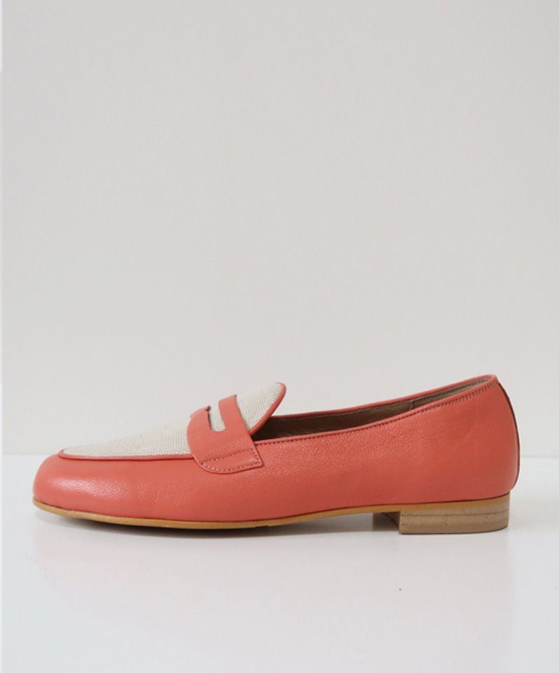 NO. Anne Penny Loafer_PINK